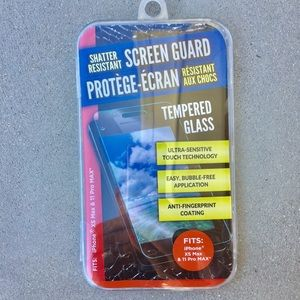 Screen Guard.  Shatter Resistant. Tempered Glass